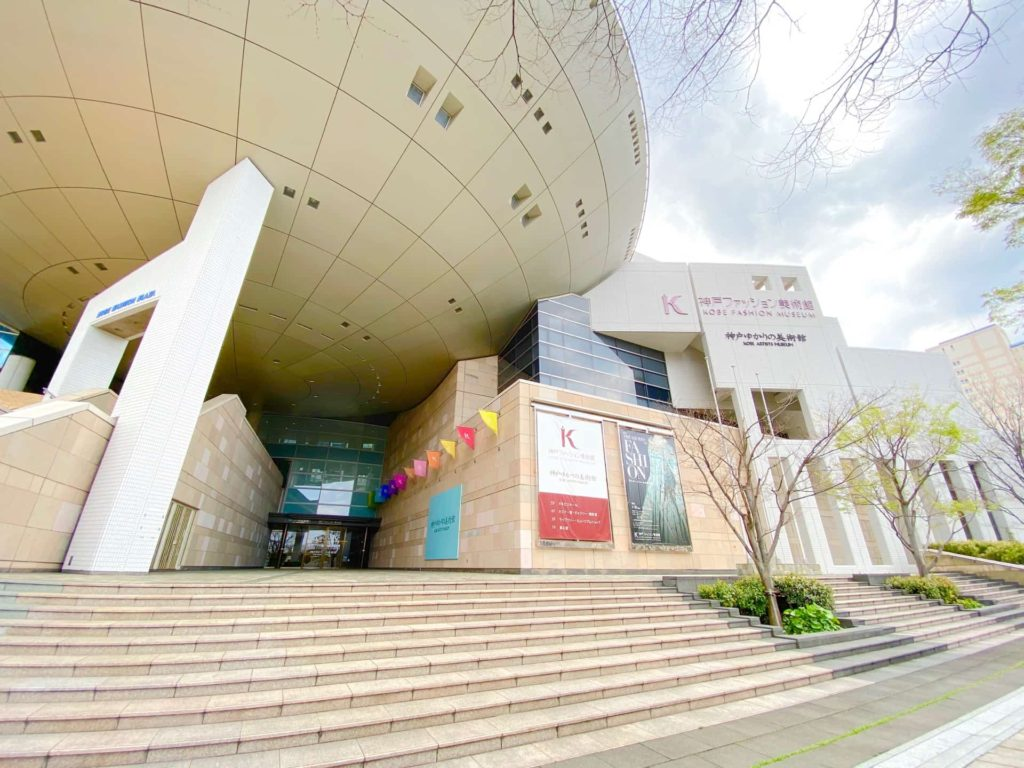 神戸ゆかりの美術館 駐車場