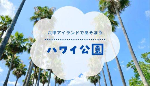 【ハワイ公園】神戸・六甲アイランドにある公園|ヤシの木がいっぱいの映える場所